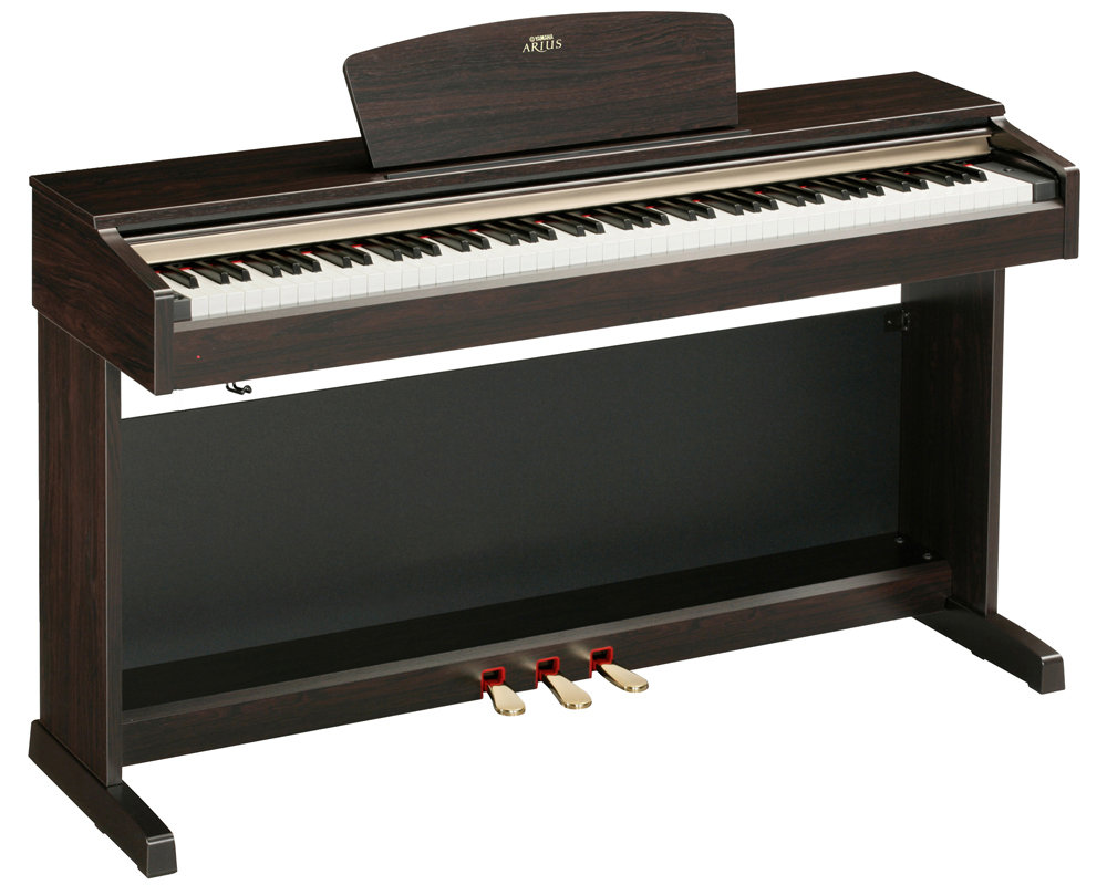: Yamaha ARIUS YDP-141 Digital Piano with Bench: Musical Instruments