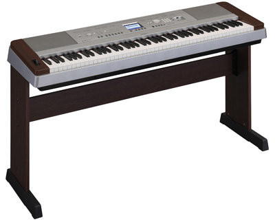 Yamaha DGX-640 Digital Piano - Walnut