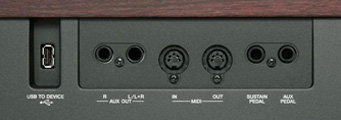 View Yamaha P-155 In/Outputs