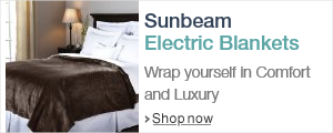 Sunbeam Electric Blankets - Wrap yourself in Comfort and Luxury