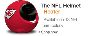 Bring the Heat on Gameday with the NFL Licensed Helmet Heater