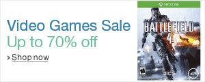 Video Games Sale on Amazon