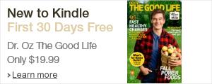 Dr. Oz The Good Life Kindle Magazine