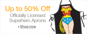 50% Off ICUP Aprons