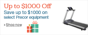 UP to $1000 off Precor