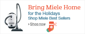 Bring Miele Home for the Holidays. Shop Miele Best Sellers