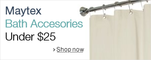 Maytex Bath Accessories Under $25
