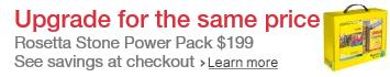 $340 off Rosetta Stone