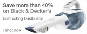 Black and Decker Dustbuster Savings