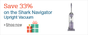 Save 33% on the Shark Navigator Vacuum