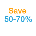 Save 50%-70%