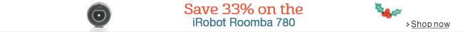 33% off iRobot Roomba 780