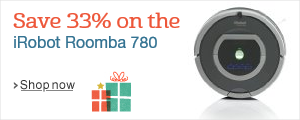 Save 33% on the iRobot Roomba 780