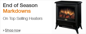 End of Season Markdowns on Top Selling Heaters