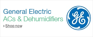 General Electric ACs and Dehumidifiers