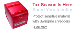 Tax Season Is Here: Shred Your Identity with Swingline Shredders