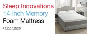 Sleep Innovations 14 inch mattress