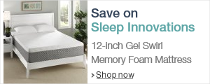Sleep Innovations 12-inch Gel Swirl Mattress