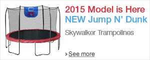 New 2015 Skywalker Trampolines Jump N' Dunk