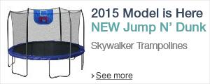 New 2015 Skywalker Trampolines Jump N' Dunk