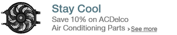 ACDelco Air Conditioning Promotion