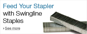 Feed your stapler with Swingline staples