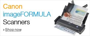 Canon imageFORMULA Scanners