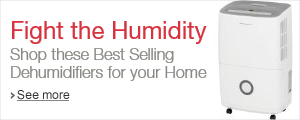 Fight the Humidity: Shop these Best Selling Dehumidifiers for your Home