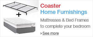 Shop Coaster Mattresses, Frames, and Foundations
