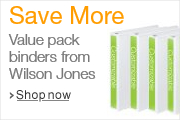 Shop Wilson Jones Value Pack Binder