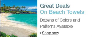 Great Deals on Beach Towels
