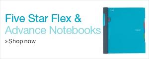 Five Star Flex & Advance Notebooks