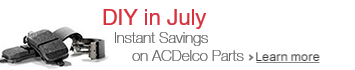 Instant Savings on ACDelco Parts
