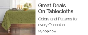 Great Deals on Best Selling Tablecloths