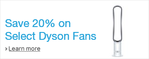 Save 20% on Select Dyson Fans