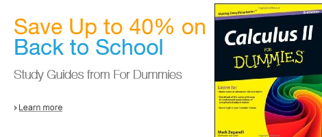 Save Up to 40% on Back to School Study Guides from For Dummies