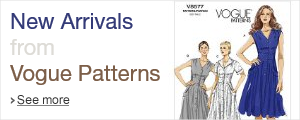 New Arrrivals from Vogue Patterns
