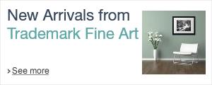 New Arrrivals from Trademark Fine Art