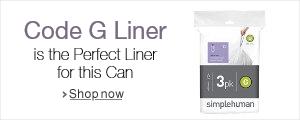 simplehuman Liner G