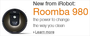 The New iRobot Roomba 980 Vacuum Cleaning Robot