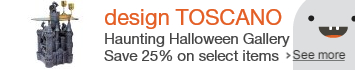 Save on select Halloween products from design Toscano