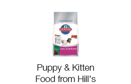 Puppy & Kitten Food from Hill's