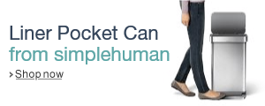 simplehuman Stainless Steel Liner Pocket Can