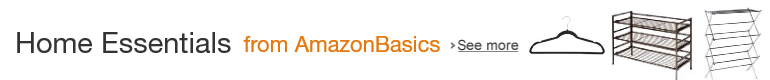 Home Essentials from AmazonBasics