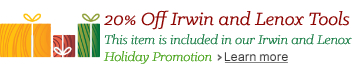 Irwin Holiday Promotion