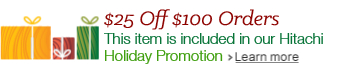 Hitachi Holiday Promotion