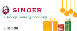 Singer is Holiday Shopping made easy