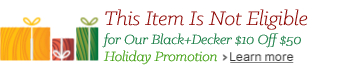 Black+Decker Holiday Promotion