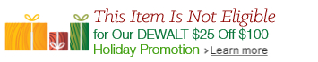 DEWALT Holiday Promotion
