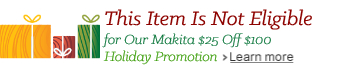 Makita Holiday Promotion